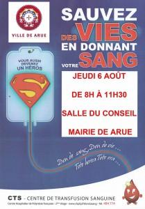 Don du sang 6 aout - siteweb